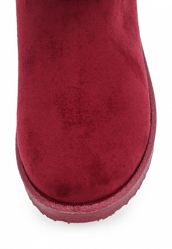 Фото 4 - Полусапоги Niweile бордового цвета