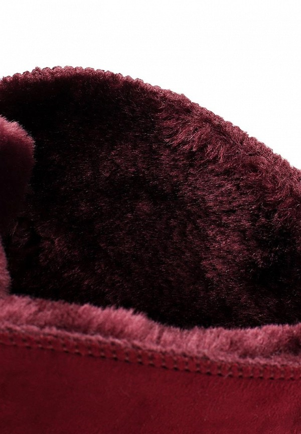 Фото 5 - Полусапоги Niweile бордового цвета