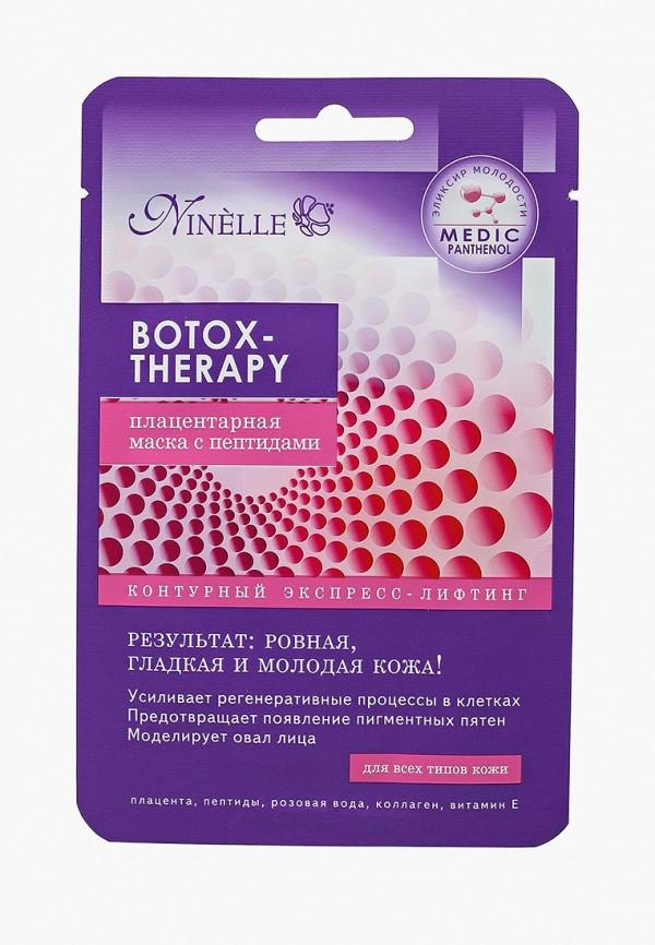 Купить Маска для лица Ninelle, Плацентарная с пептидами Botox-Therapy, NI025LWUWX32, Весна-лето 2018