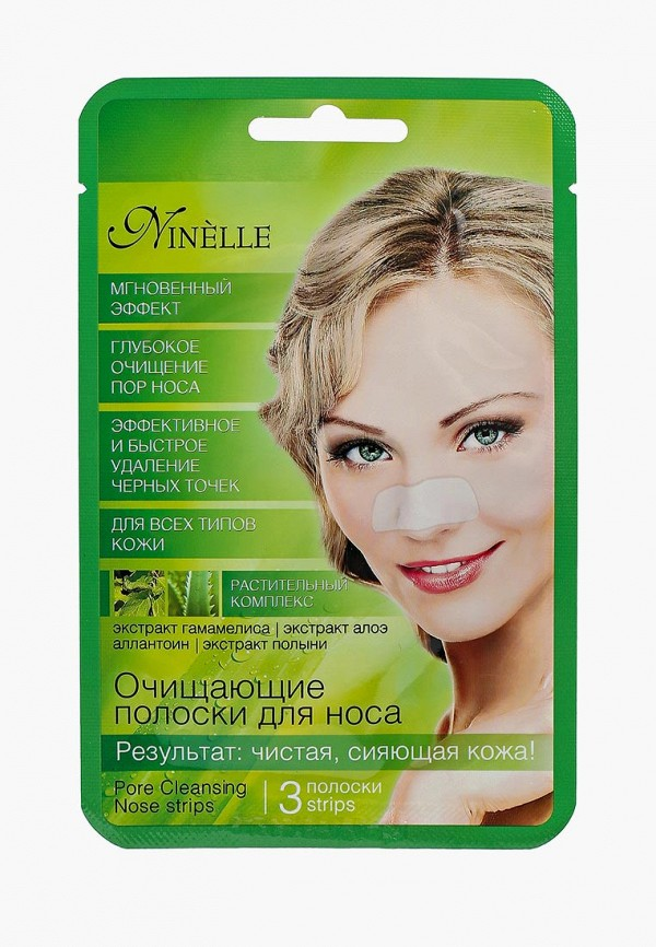 Купить Маска для лица Ninelle, очищающие для носа, 3шт, NI025LWUWX39, Весна-лето 2018