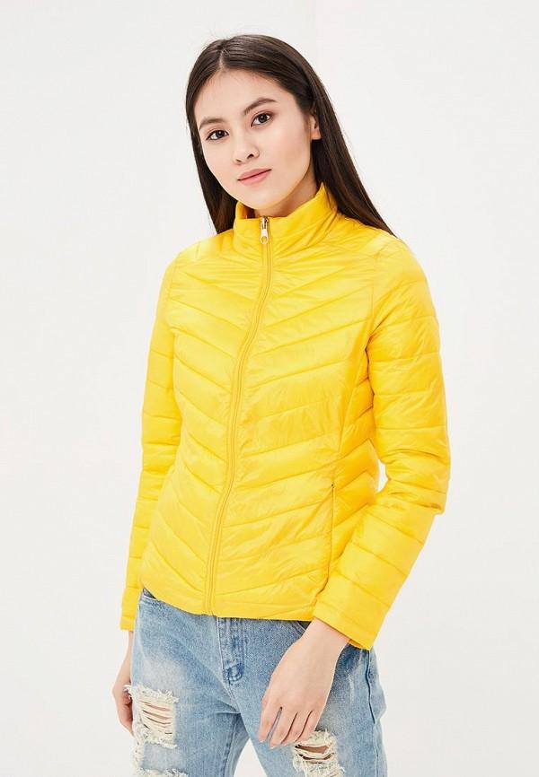 Купить Куртка утепленная Nice & Chic, NI031EWAVIY4, желтый, Весна-лето 2018