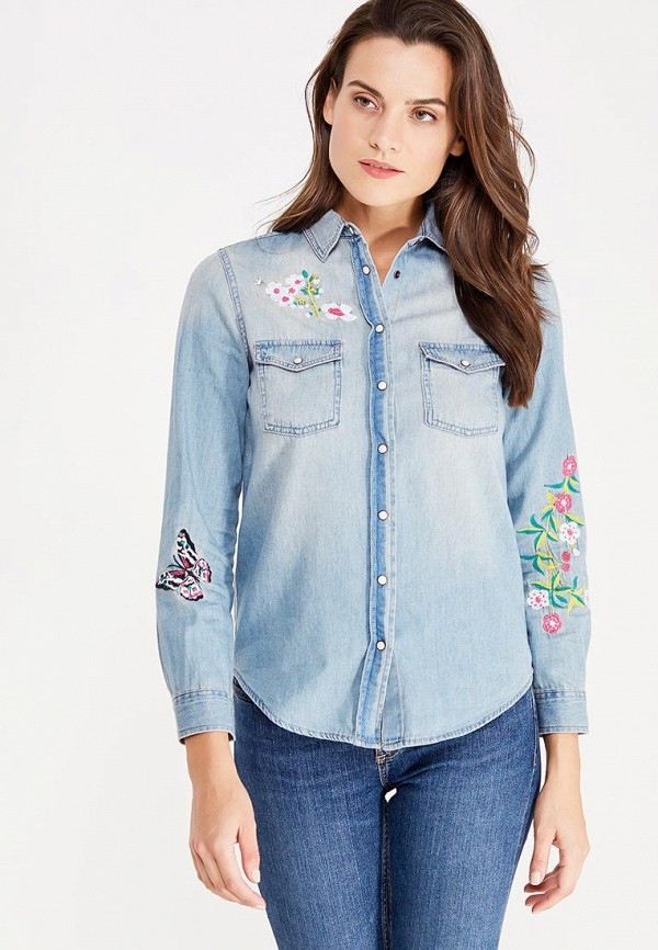 Рубашка джинсовая Nice & Chic Nice & Chic NI031EWVXK76 рубашка джинсовая nice