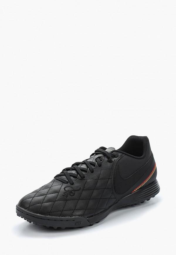 Купить Шиповки Nike, TIEMPOX LIGERA IV 10R TF, NI464AMBBIT7, черный, Весна-лето 2018