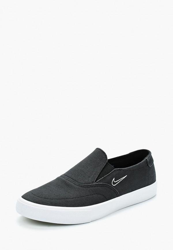 Купить Слипоны Nike, NIKE SB PORTMORE II SLR SLP C, NI464AMBBNH0, черный, Весна-лето 2018