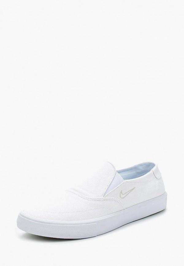 Купить Слипоны Nike, NIKE SB PORTMORE II SLR SLP C, NI464AMBBNH1, белый, Весна-лето 2018