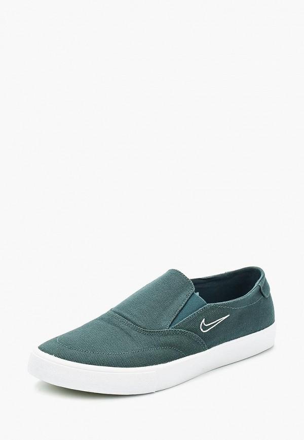 Купить Слипоны Nike, NIKE SB PORTMORE II SLR SLP C, NI464AMBBNH2, зеленый, Весна-лето 2018