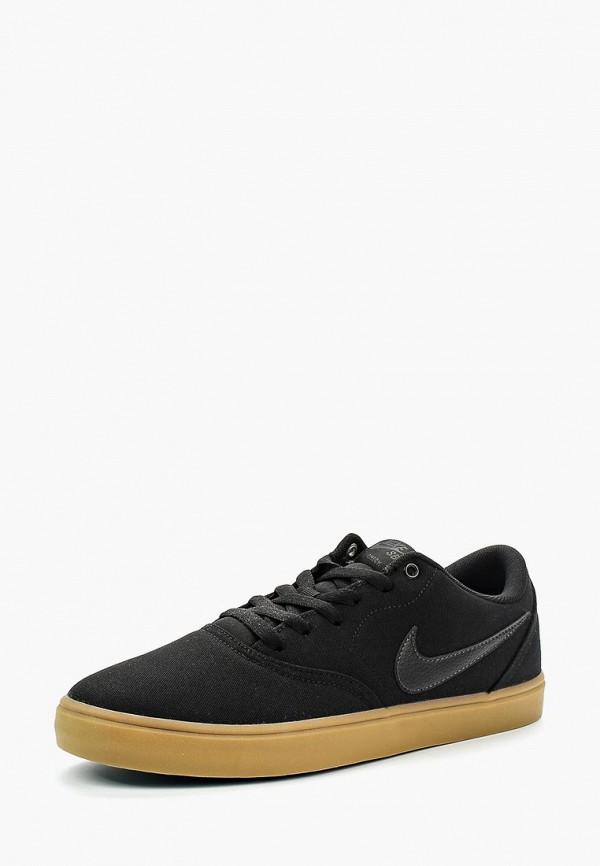 Купить Кеды Nike, NIKE SB CHECK SOLAR CNVS, NI464AMBBNZ9, черный, Весна-лето 2018