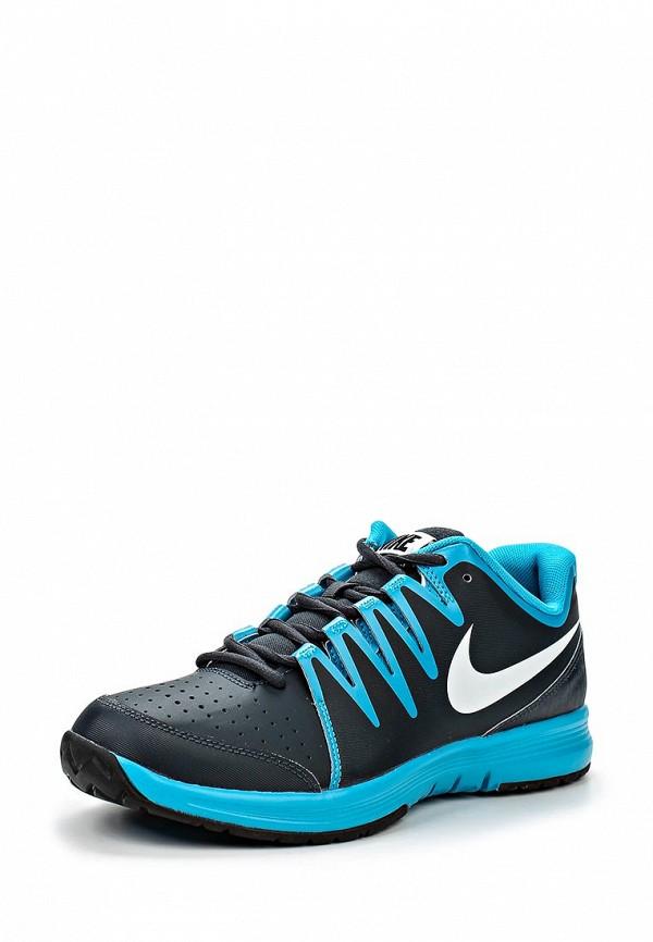 Мужские кроссовки голубого цвета