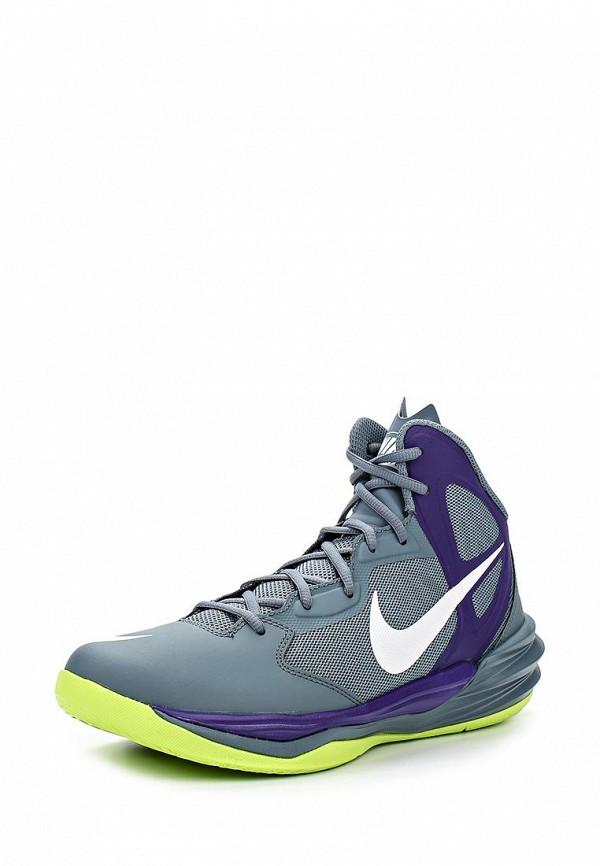 Кроссовки Nike PRIME HYPE DF мужские серо-кислотные