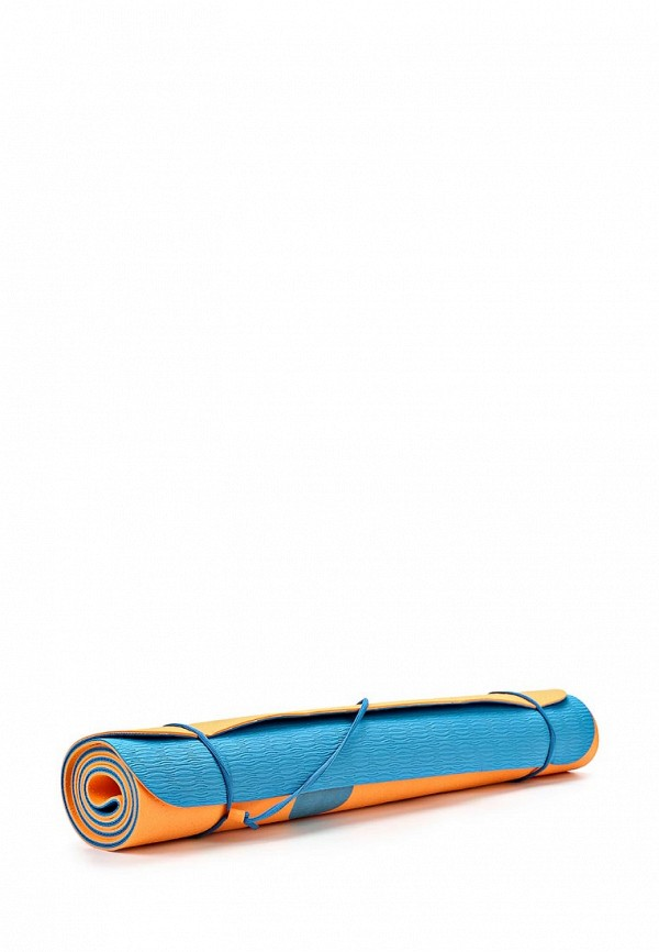 Коврик для йоги (SPORT EQUIPMENT) Nike NIKE JUST DO IT MAT 3MM TOTAL ORANGE/SHADED BLUE