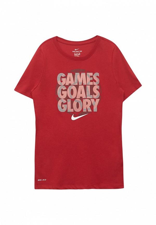 Футболка спортивная Nike Nike NI464EBABBA0 футболка спортивная nike nike ni464emugr73