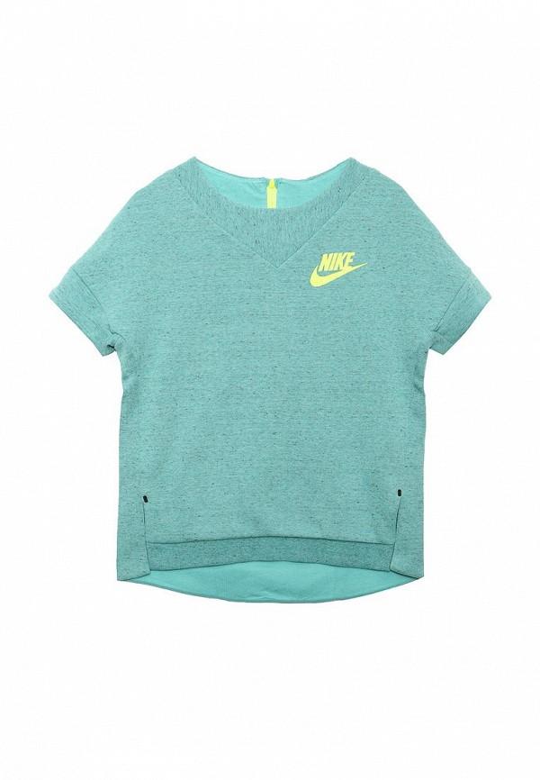Футболка Nike (Найк) 816375-395: изображение 3