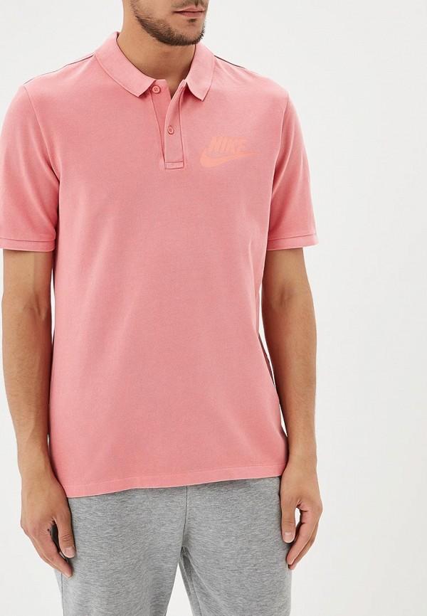 Купить Поло Nike, M NSW POLO PQ WASH HBR, NI464EMBBJD6, розовый, Весна-лето 2018