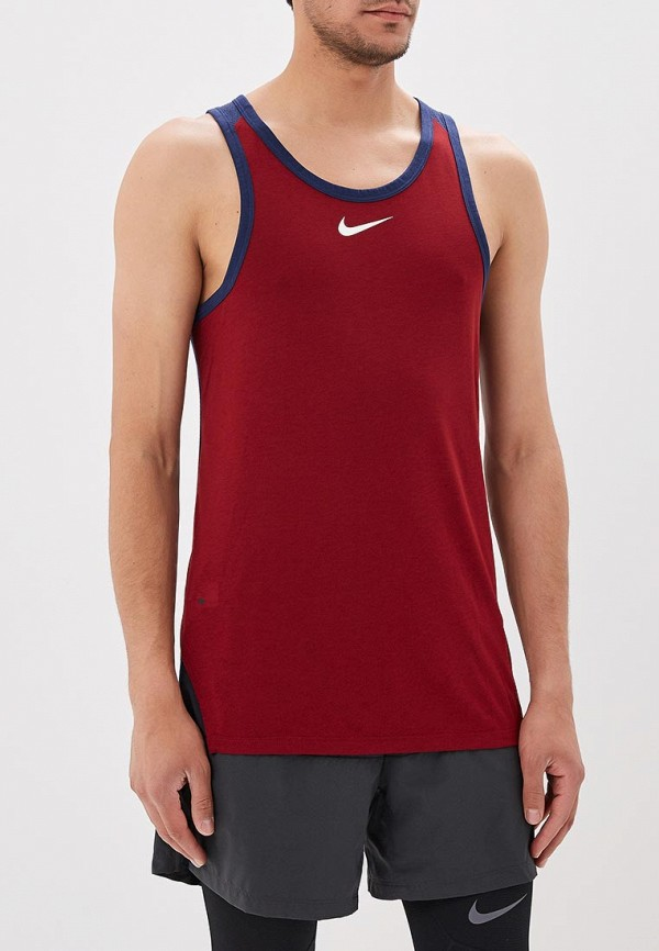 Майка спортивная Nike Nike NI464EMBBJI6 сумка спортивная nike nike ni464bwrym11