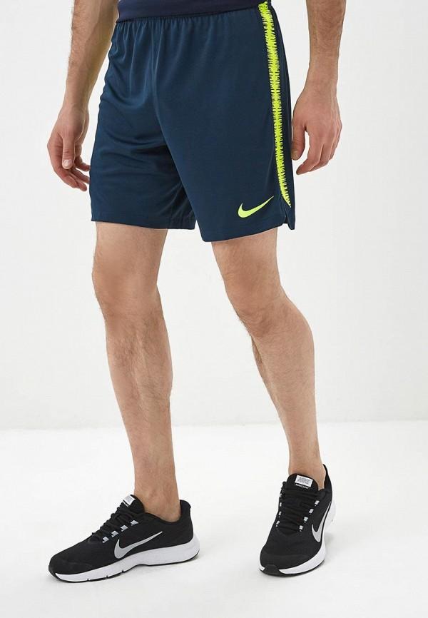 Купить Шорты спортивные Nike, CBF M NK DRY SQD SHORT K, NI464EMBBJK6, синий, Весна-лето 2018