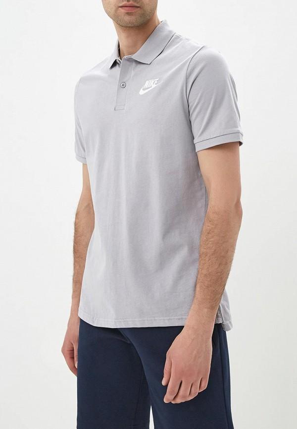 Купить Поло Nike, M NSW POLO JSY MATCHUP, NI464EMBBJP3, серый, Весна-лето 2018