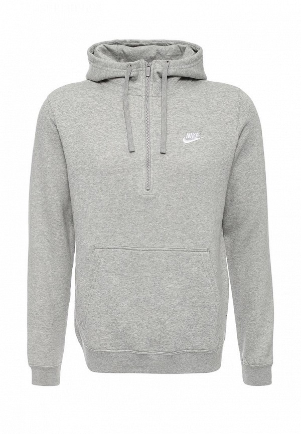 Толстовка Nike M NSW HOODIE HZ FLC CLUB