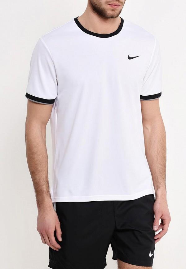 Футболка спортивная Nike Nike NI464EMPKQ68 спортинвентарь nike чехол для смартфона на руку nike printed lean arm band n rn 68 439 os