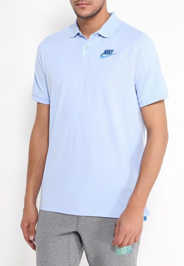 Поло Nike Nike NI464EMRYV44 поло nike цвет голубой размер m