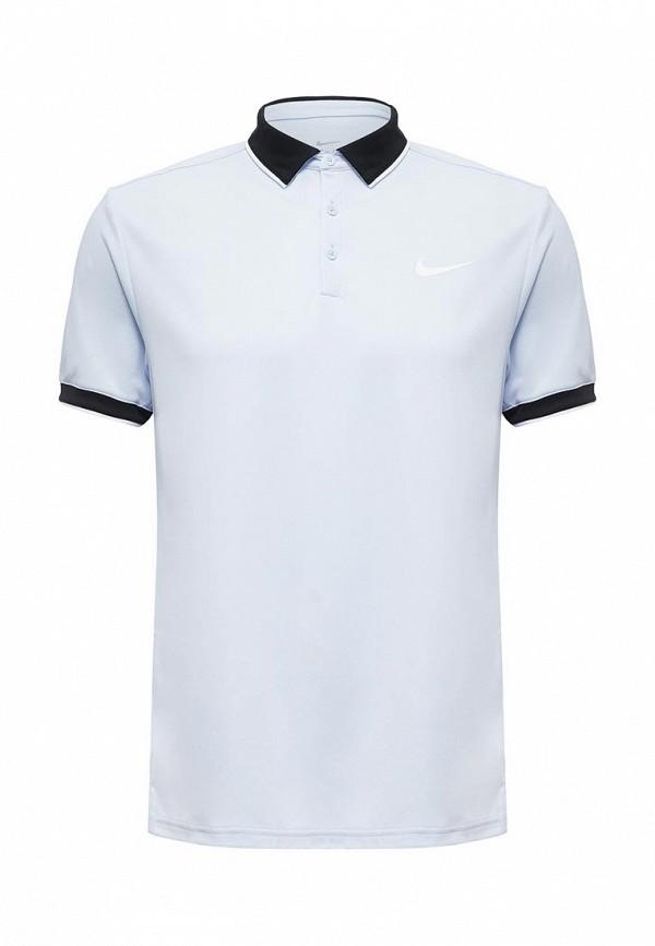 Поло Nike Nike NI464EMUGM04 поло nike цвет голубой размер m