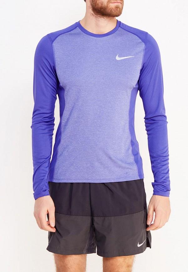Лонгслив спортивный Nike Nike NI464EMUGM18 топ спортивный nike nike ni464ewugz12