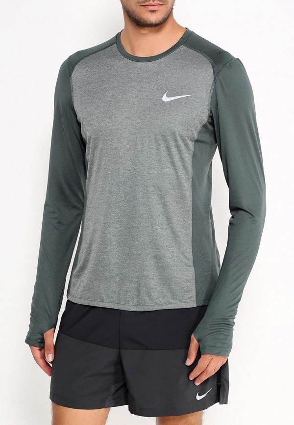 Лонгслив спортивный Nike Nike NI464EMUGO43 топ спортивный nike nike ni464ewugz12