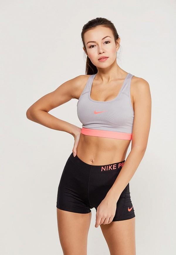 Топ спортивный Nike Nike NI464EWAADR3 топ nike топ get fit rugby stripe tank
