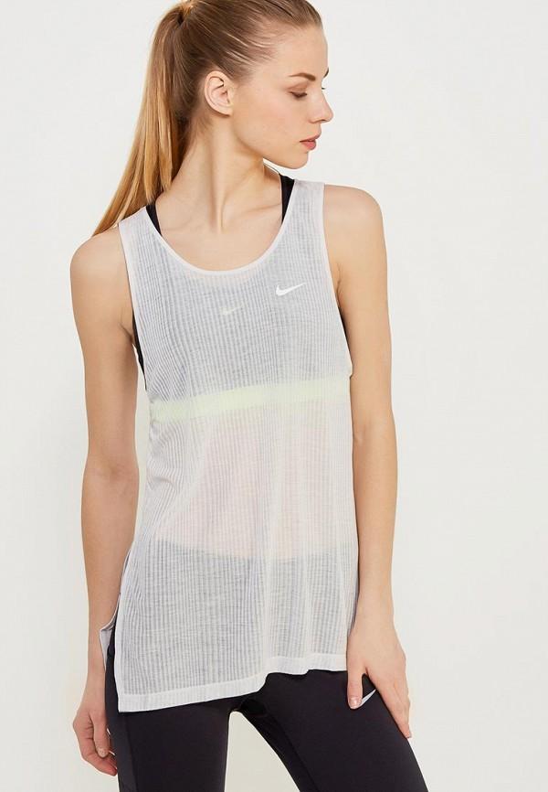 Майка спортивная Nike Nike NI464EWAAEM1 сумка спортивная nike nike ni464bwrym11