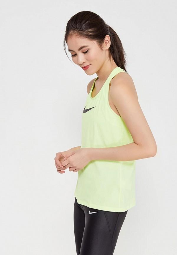 Майка спортивная Nike Nike NI464EWAAEQ1 сумка спортивная nike nike ni464bwrym11