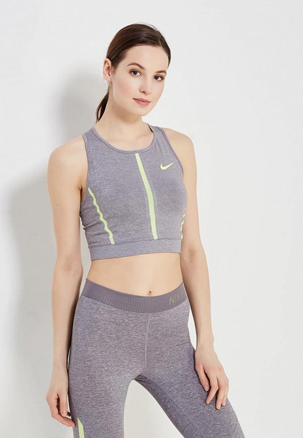 Топ спортивный Nike Nike NI464EWAAES3 топ спортивный nike nike ni464ewaadt3