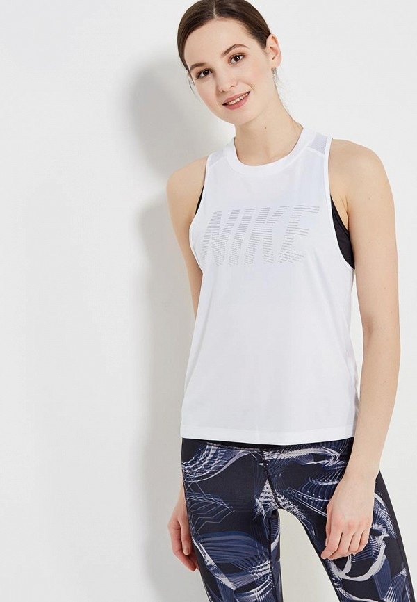 Майка спортивная Nike Nike NI464EWAAGG0 сумка спортивная nike nike ni464bwrym11