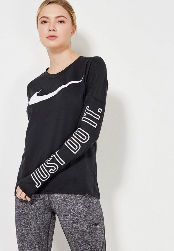 Лонгслив спортивный Nike Nike NI464EWAAGY1 топ спортивный nike nike ni464ewugz12