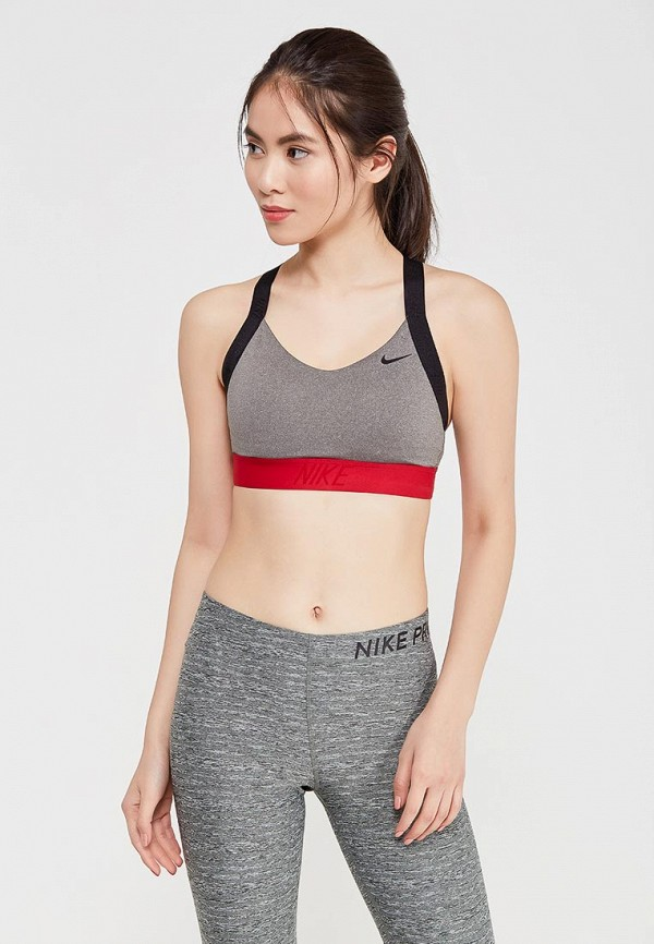 Топ спортивный Nike Nike NI464EWAAHA8 топ nike топ get fit rugby stripe tank