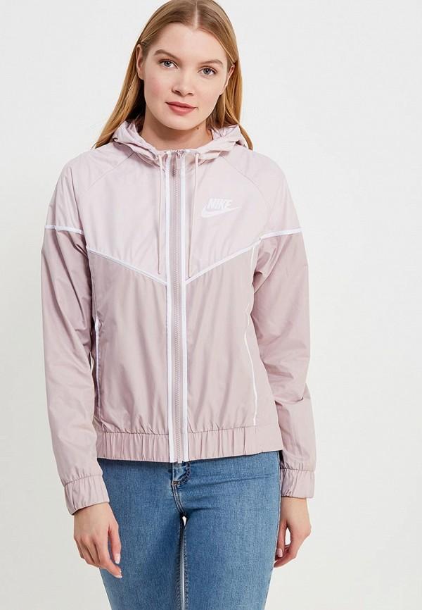 Ветровка Nike цвет розовый сезон весна, демисезон, лето страна Вьетнам размер 40, 42, 46, 48