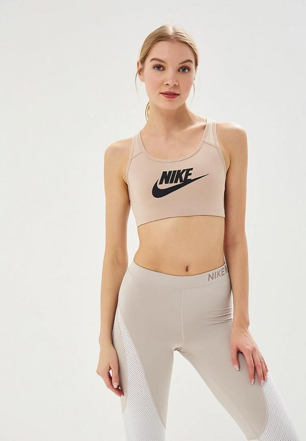 Топ спортивный Nike Nike NI464EWBBKV8 топ nike топ get fit rugby stripe tank