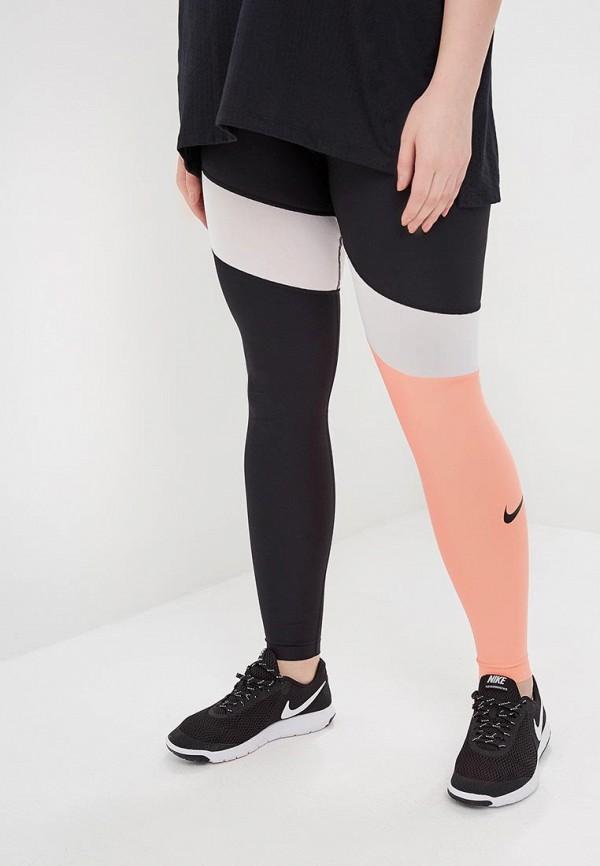 Тайтсы Nike Nike NI464EWBBLC7 тайтсы nike тайтсы g nsw tght club aop