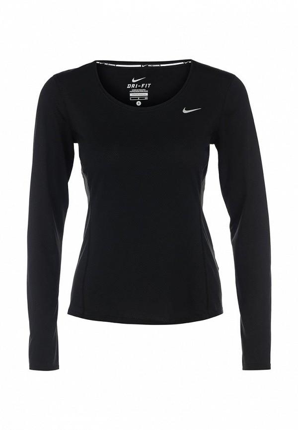 Здесь можно купить DRI-FIT CONTOUR LONG SLEEVE  Лонгслив спортивный Nike Футболки и топы