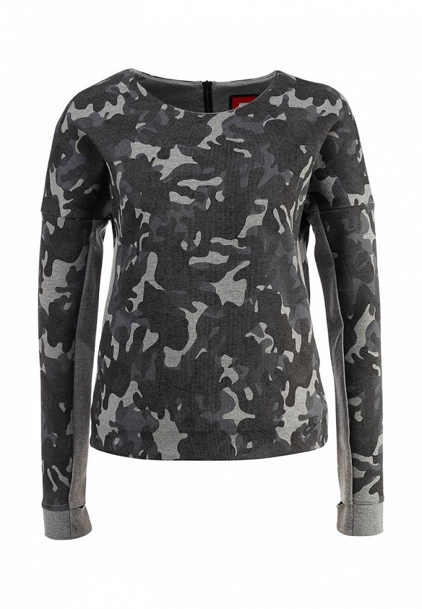 Толстовка Nike NIKE TECH FLEECE CREW-AOP