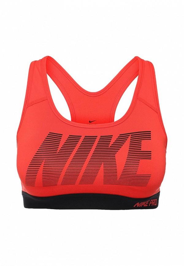 Топ спортивный Nike Nike NI464EWHBL69 топ nike топ get fit rugby stripe tank