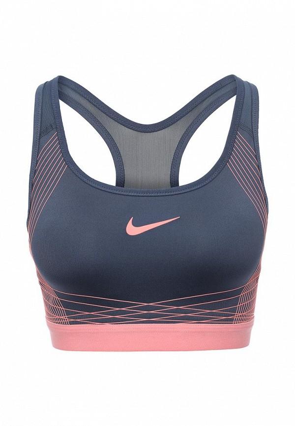 Топ спортивный Nike Nike NI464EWPKW62 топ nike топ get fit rugby stripe tank