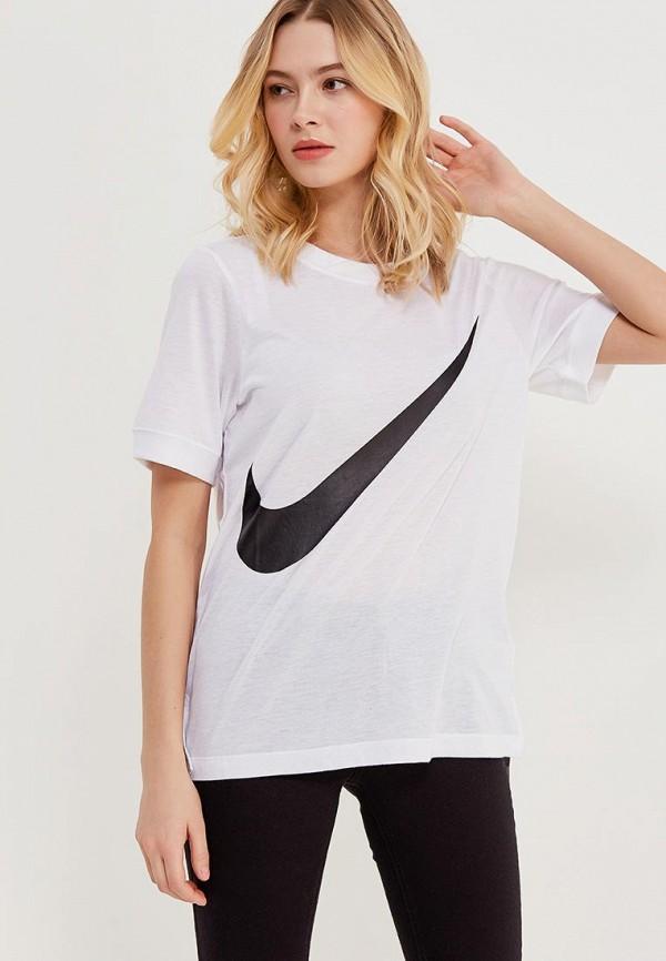 Футболка Nike Nike NI464EWRZA68 спортинвентарь nike чехол для смартфона на руку nike printed lean arm band n rn 68 439 os
