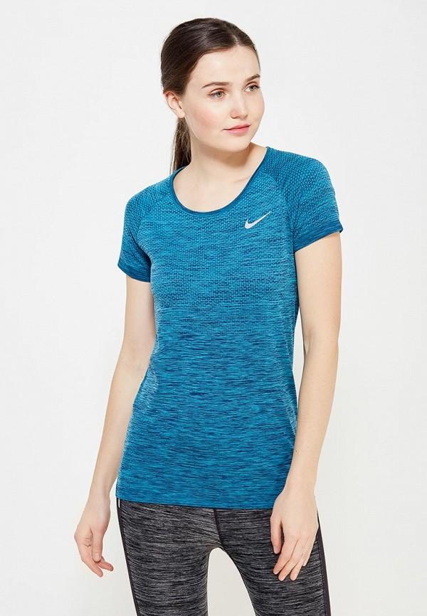 Фото Футболка спортивная Nike Nike NI464EWUHB16 (Nike NI464EWUHB16). Покупайте с доставкой по России