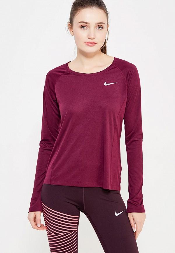 Лонгслив спортивный Nike Nike NI464EWUHC26 топ спортивный nike nike ni464ewugz12