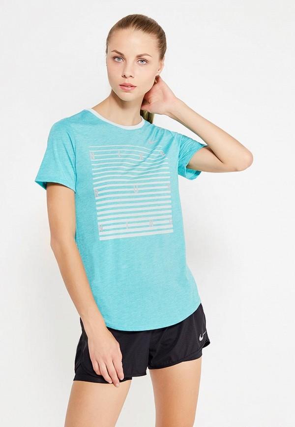Футболка спортивная Nike Nike NI464EWUHE08 футболка спортивная nike nike ni464emugr73