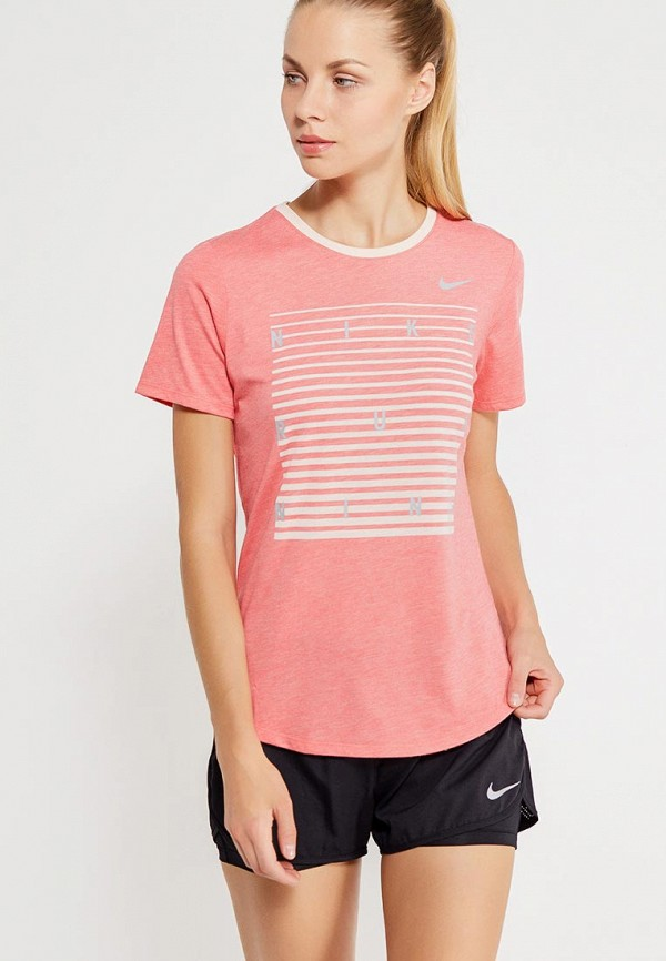 Футболка спортивная Nike Nike NI464EWUHE09 футболка спортивная nike nike ni464emugr73