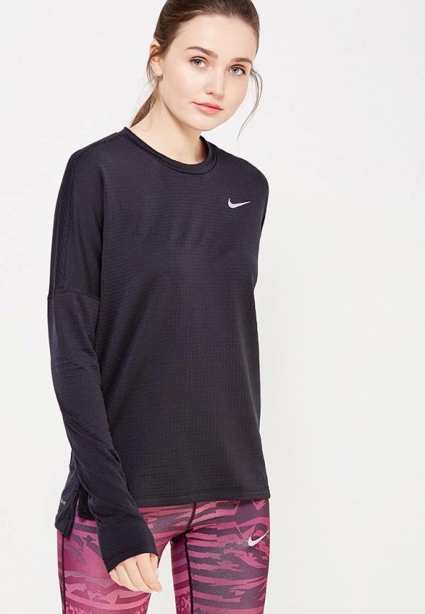 Лонгслив спортивный Nike Nike NI464EWUHE96 топ спортивный nike nike ni464ewugz12
