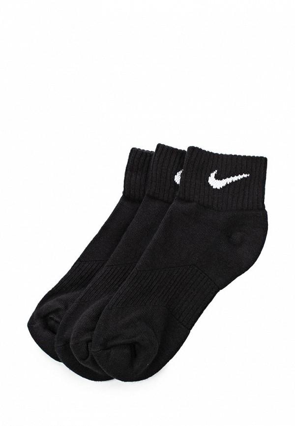 Комплект 3 пары. Nike 3P YTH CTN CUSH QTR W/ MOIST M