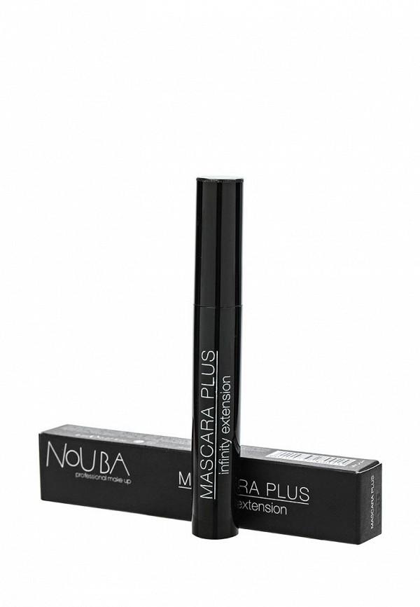 Тушь Nouba для ресниц суперобъем Mascara Plus Infinity Extention 01 10 мл