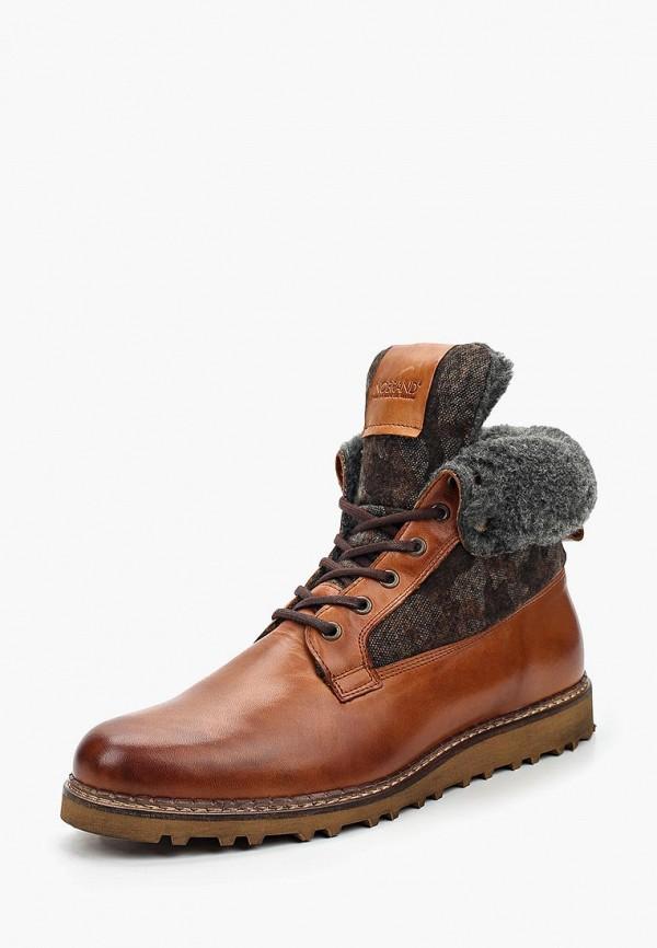 Фото - мужские ботинки и полуботинки Nobrand коричневого цвета