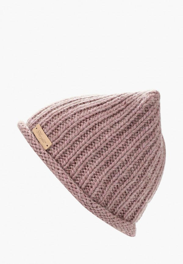 Фото - женскую шапку Noryalli розового цвета